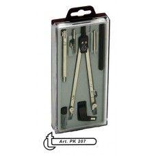 Körző készlet 7 darabos PK207 - Műszaki körző készlet - 1,299Ft - Körző - Körző készlet