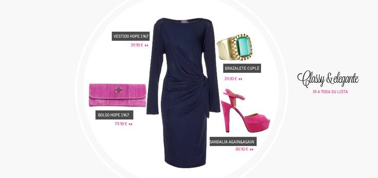 Look classy elegant vestido hope 1967 http www - El armario d la tele com ...