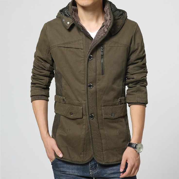 46.39$  Watch now - http://ai3eo.worlditems.win/all/product.php?id=32681297482 - 2016 New Casual Hooded Parkas Hombre Invierno Thick Warm Winter Jassen Heren