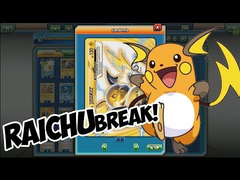 More Break Pokemon showing up on this channel! Today we'll take a look at Raichu Break! Pokemon TCG Online (PTCGO) is a free downloadable application …   source    #coupon_content{border:dashed 1px  ...Read More