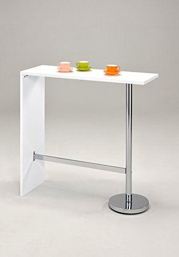 Offerta di oggi - Meubletmoi tavolo alto da bar bancone piano di ...
