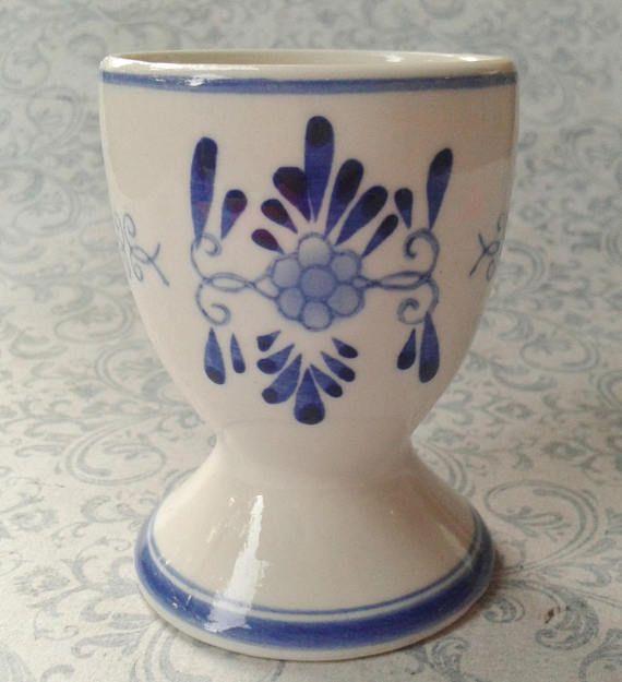 Delfts Blauw eierdopje Made in Holland Molen