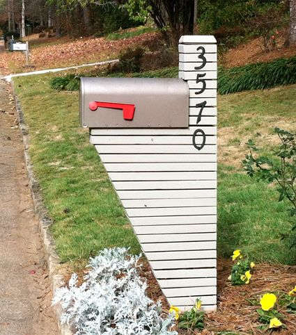 Another Mailbox The Garden Pinterest Modern Mailbox