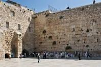 The wailing wall in Israel: I've been there. I could feel the spiritual warfare, with the Islamic ramadan ceremonies going on at the dome of the rock.