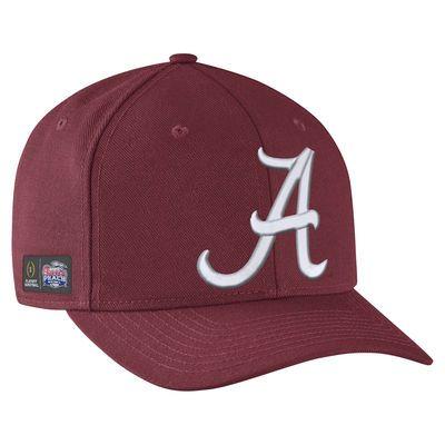 Men's Nike Crimson Alabama Crimson Tide College Football Playoff 2016 Peach Bowl Bound Classic 99 Performance Adjustable Hat