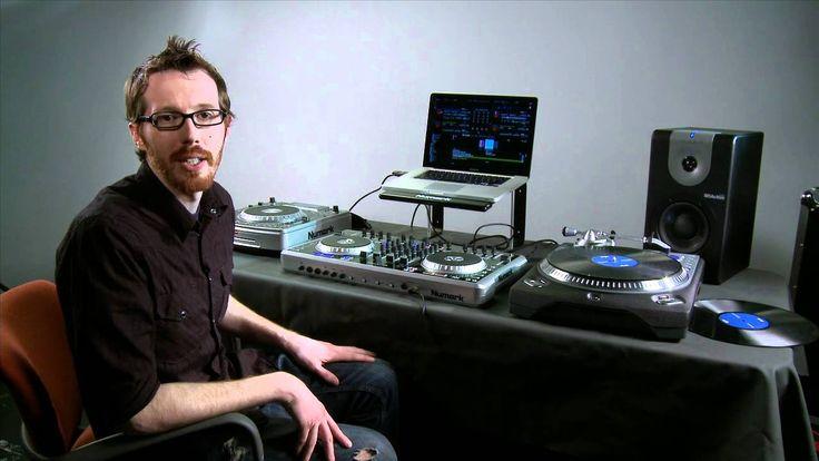 Controlador de 4 canales y Mixer Numark N4