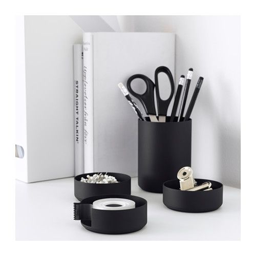 ypperlig set de bureau ikea organizing pinterest. Black Bedroom Furniture Sets. Home Design Ideas
