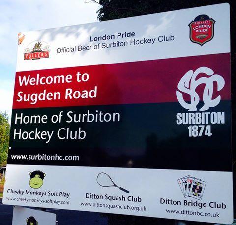 Team Concept arrive to present Team GB Athlete Georgie Twigg with her new BMW — at Surbiton Hockey Club.