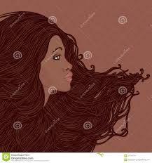 mujer afroamericana ilustracion - Buscar con Google