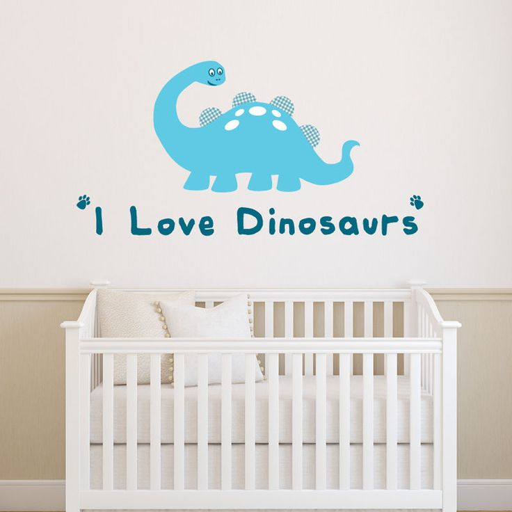 U0027I Love Dinosaursu0027 Wall Sticker. Have Fun And Get Creative With Our  Wonderful Range Of Wall Stickers. As Long As The Surface Is Flat And Clean,  ...