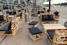 Pallet Made Restaurant Furniture