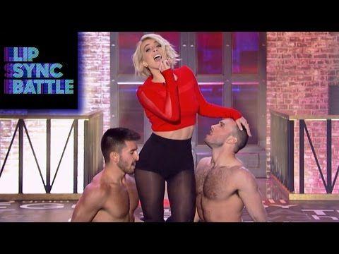 Julianne Hough's I Just Had Sex vs. Derek Hough's Chandelier | Lip Sync Battle - YouTube