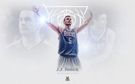 J. J. Redick, Milwaukee Bucks guard, widescreen wallpaper... Source: http://www.basketwallpapers.com
