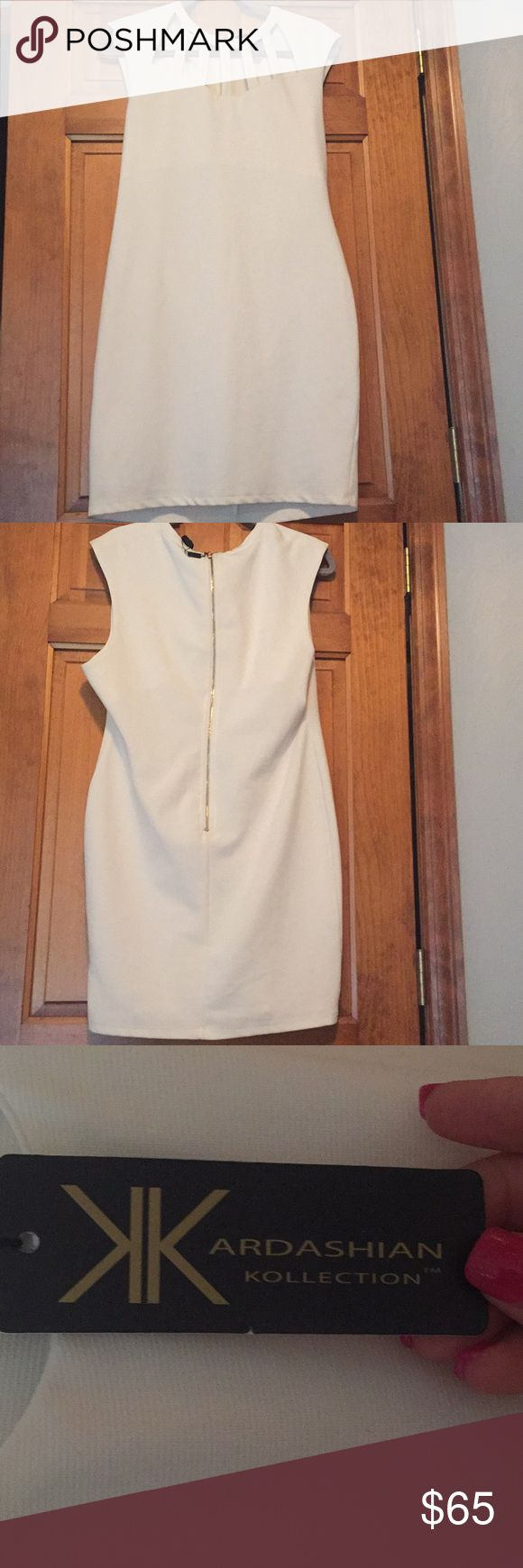 White Kardashian Kollection Dress White Kardashian Kollection Dress, Size XL Kardashian Kollection Dresses