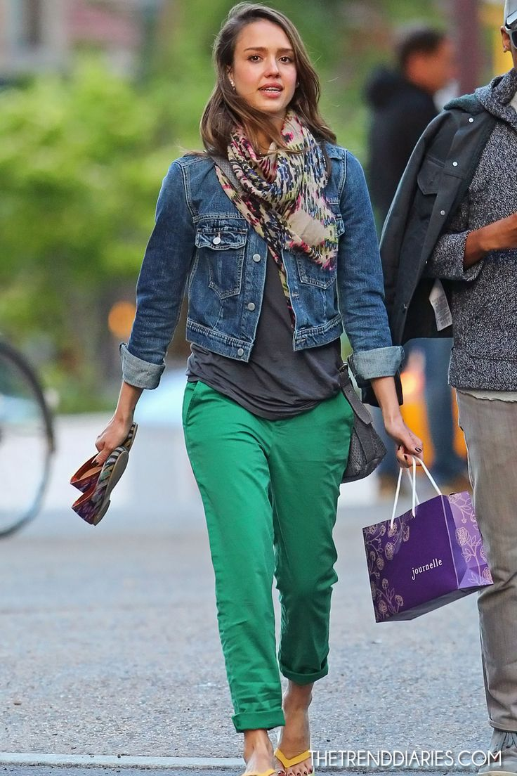 Jessica Alba out in New York City, New York - May 6, 2012