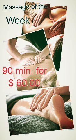 90 min. Massage Deal the week $ 60.00 Trees Bodyworks 1944 Bedford Rd. Suite 200 817-358-9757 www.TreesBodyworks.com