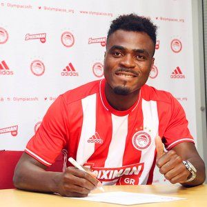 Nigerian forward Emmanuel Emenike has joined Olympiacos from Turkish top division side Fenerbahce.   The Greek champions announced the ca...
