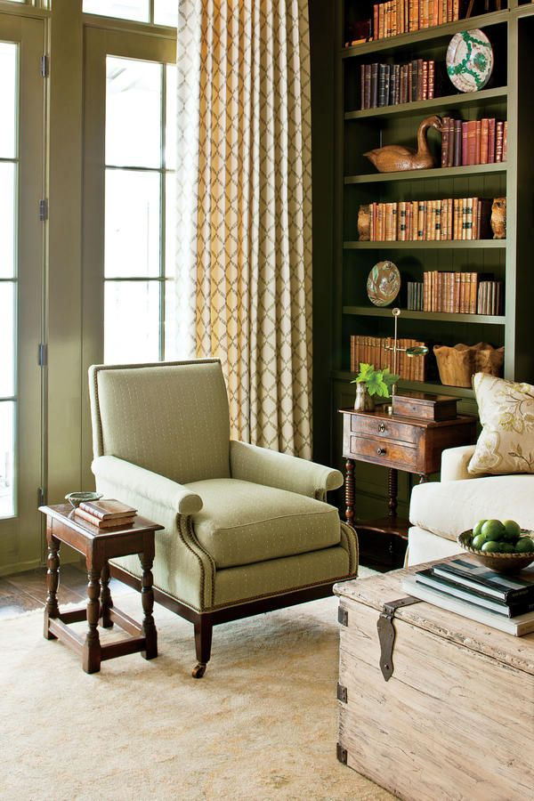 The Study Nashville Idea House Tour Decorating Living Roomsdecorating