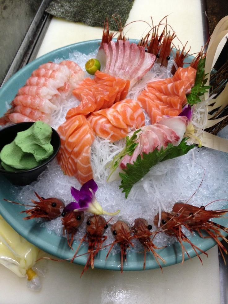 70 best images about japanese food sashimi on pinterest for Best sashimi fish