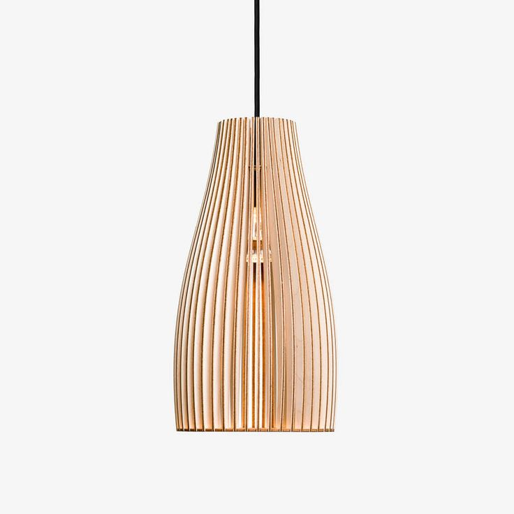 ENA-wooden pendant light