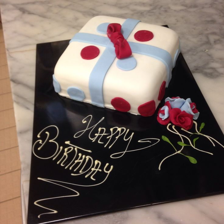 lil birthday cake simple sponge