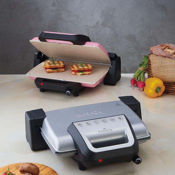 Silverline Granit Tost Makinesi ile hızlı başlangıçlara lezzet katın. #PaylaşacakÇokŞeyVar http://bit.ly/KaracaSilverlineGranitTostMakinesi