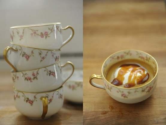 butterscotch pot de creme | Food & Drink | Pinterest