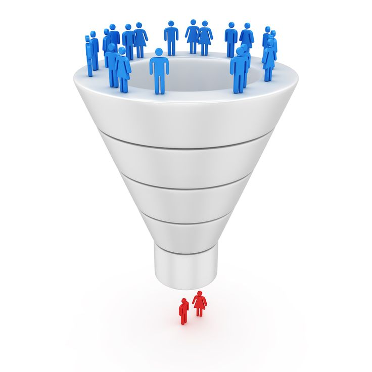 The Sales Funnel--Separating The Spectators From Action-Takers