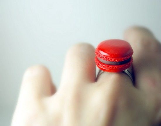 Macaron ring by Divine Sweetness