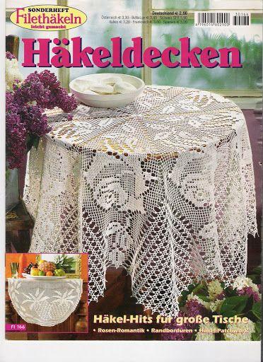 Hakeldecken - Crochet Knitting Handicraft
