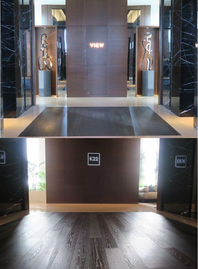 """Selalu merasa tersanjung kalau berkunjung disini, """"K22 Bar & Restaurant, Fairmont Hotel - Senayan"""". Hasil karya kami terawat dengan baik, terimakasih untuk penghargaannya. #fairmonthotel #k22bar&restaurant #fairmonthotel #lantekayu #lantekayuprojectrenovation #lantaikayu #flooring #lantekayuproject #woodflooring"""