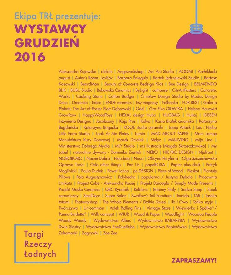 wystawcy na targach rzeczy ładnych 2016