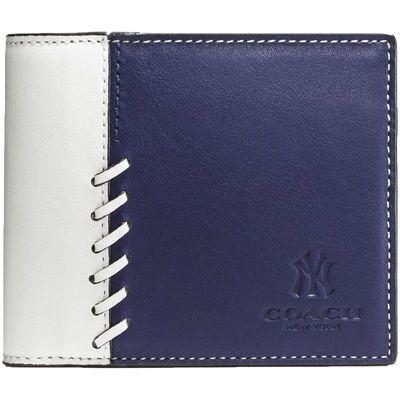 Men's New York Yankees Coach Rip and Repair Compact ID Wallet