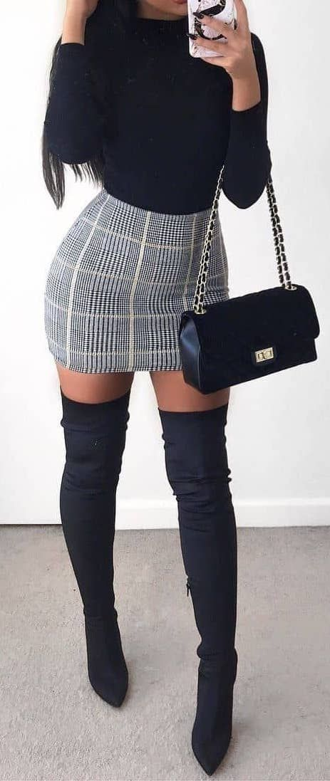 55+ Winter Outfits to Shop Now Vol. 1 / 40 #Winter #Outfits