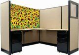dream cubicle easy stick polyester fabric cubicle scene