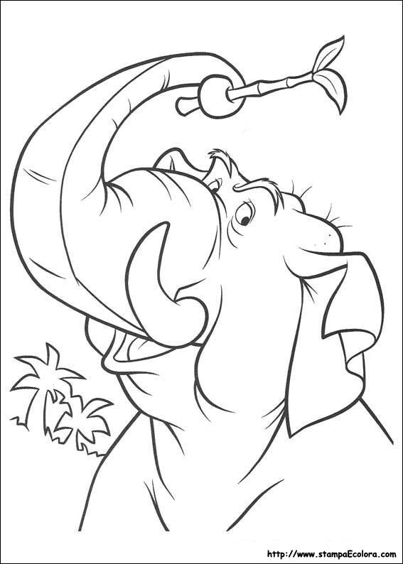 baloo coloring pages - photo#26