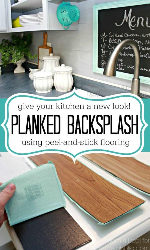 Plank-Backsplash-Using-Peel-and-Stick-Flooring-Mom-4-Real-for-Remodelaholic.com_