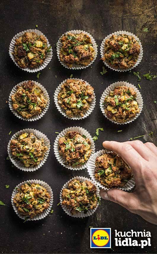 """Chlebowe """"muffiny"""" wytrawne. Kuchnia Lidla - Lidl Polska. #lidl #chrupiacezpieca"""