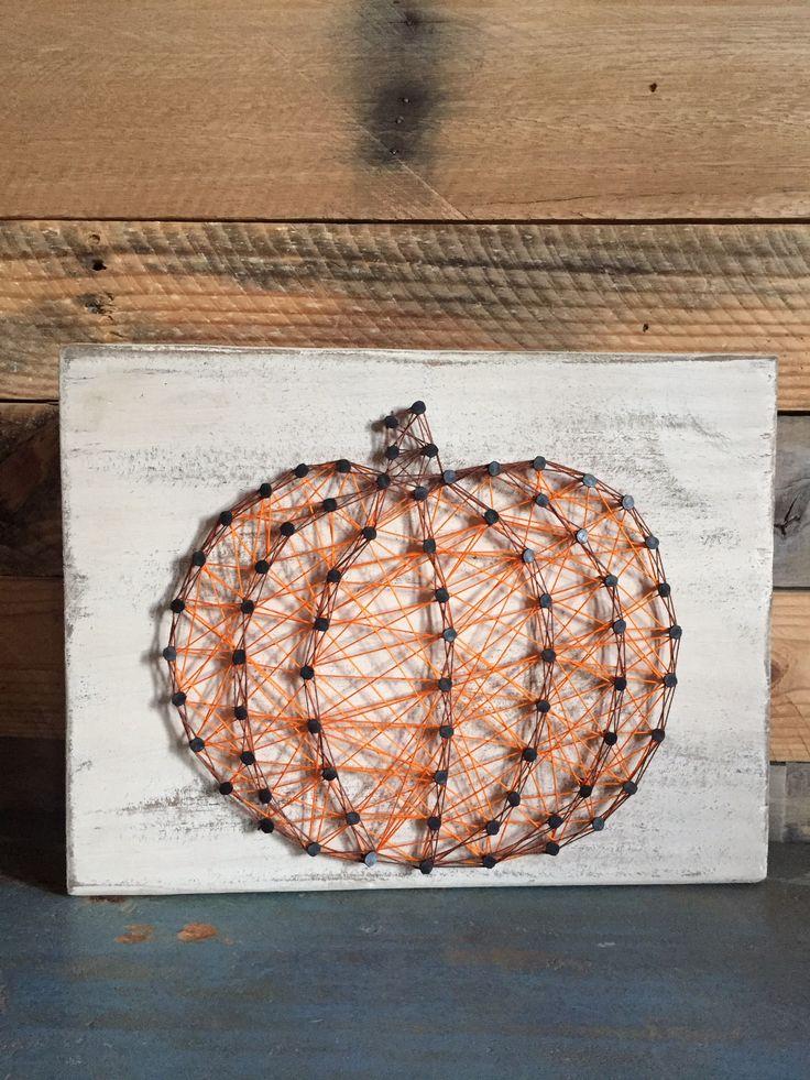 Pumpkin {string art}