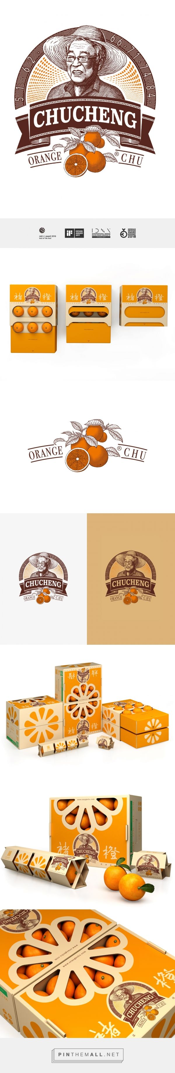 Chu's Orange on Packaging of the World - Creative Package Design Gallery - created via https://pinthemall.net