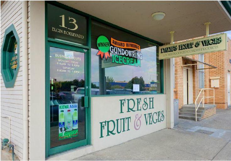 Providing best quality locally grown organic (where possible) fruit & vegetables, gourmet sauces, pastas, milk, free range eggs and Gundowring Ice cream. 13 Elgin Boulevard, Wodonga, Victoria, Hours Mon - Fri: 8:30 am - 5:30 pm Sat: 9:00 am - 12:30 pm Phone (02) 6024 3997 Email ness@daresfinefoods.com.au