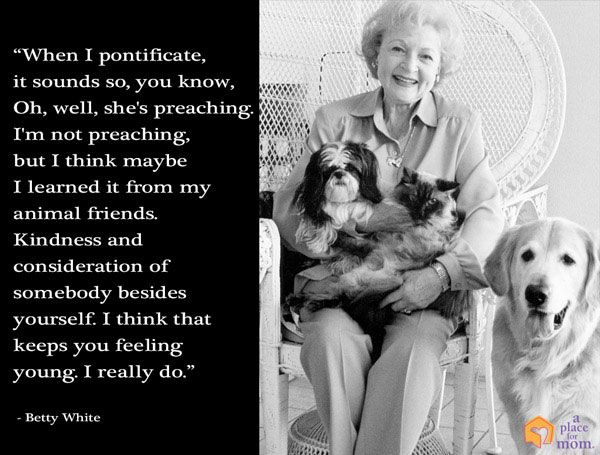 Kindness and Consideration Quote by Betty White