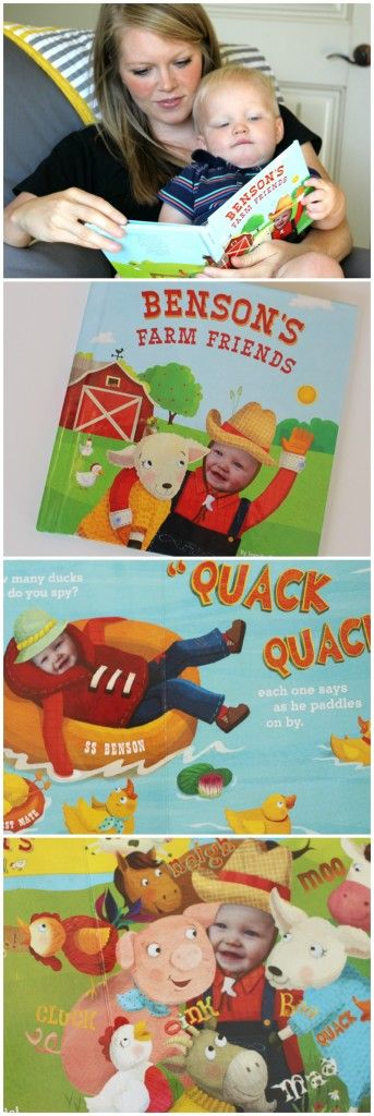 My Farm Friends Personalized Book from I See Me! - great option for personalized #gifting #books