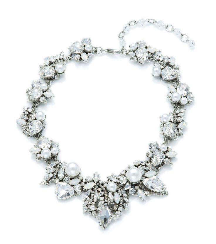Bette Davis Necklace - Silver