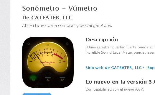 App para medir los decibelios