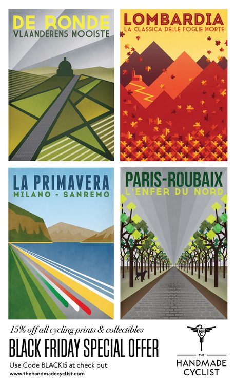 Posters on the handmade cyclist blog