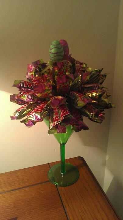Easter Twix Candy Bouquet