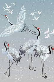 Image result for japanese crane symbolism