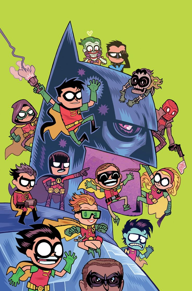 DC\'s TEEN TITANS GO! Variant covers