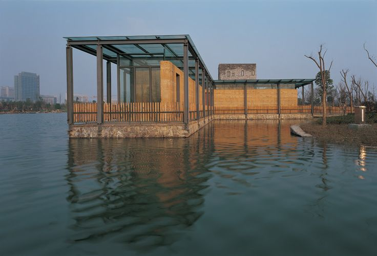 pritzker prize winner wang shu: the work of amateur architecture studio.  five scattered houses, 2003-2006, ningbo, china, image © lang shuilong